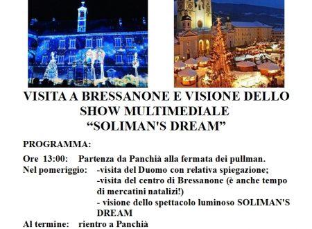 MANIFESTO GITA A BRESSANONE 03 DICEMBRE 2018